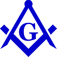 Masonic Square and Compasss
