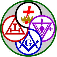York Rite Circle Logo